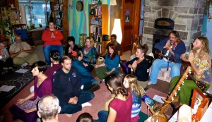 Kitchen Kirtan Party Fall 2014