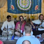 The group at Bhakti in the Woods Festival 2013