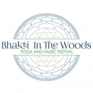 Bhakti In The Woods Logo