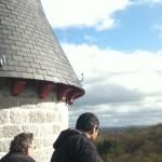 On top a Hare Krishna castle - Belgium