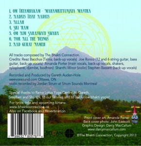 Back cover -Mount Arunachala