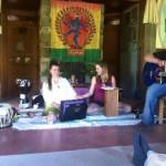 House concert kirtan
