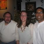 Joe, Amanda and Reaz