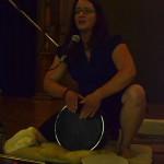 Drumming in MTL - photo credit The Bhakti Beat