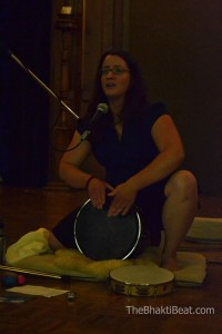 Drumming in MTL - photo credit The Bhakti Beat